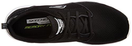 Skechers COUNTERPART - Zapatillas de deporte para hombre BKW