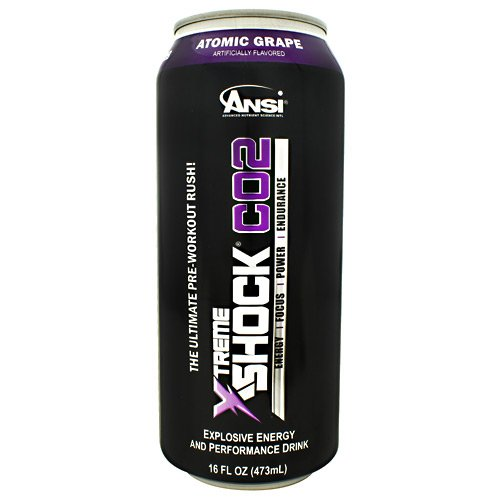 Advance Nutrient Science Xtreme Shock CO2 Atomic Grape 12-16 fl oz (473ml) cans by Advance Nutrient Science