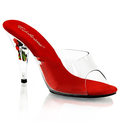 Fabulicious Caress-401FL - sexy chaussures Femmes talon hauts sandalettes 35-44