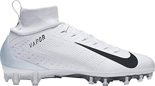 - Nike Mens Vapor Untouchable 3 Pro Football Cleats (14, White/Black)