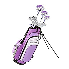 Tartan Premium Ladies Golf Club Set Pink and Purple, Right Handed and Left Handed, Sizes/Height – Standard, Petite, Tall