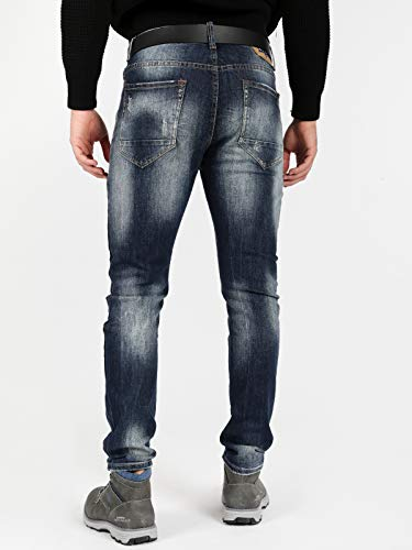 Jeans Homme X three Bleu X three Stgq8wt