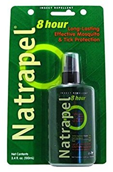 Natrapel 12-Hour Insect Repellent 3.4 Ounce Pump Carded (100ml)