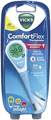 Vicks Comfortflex Digital Thermometer 1 Ea Buy Online At Best