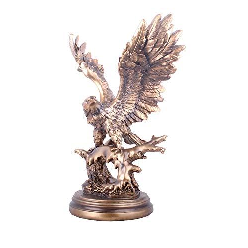 Resina De La Estatua del Águila, Hogar Interior Oficina Decoración Manualidades