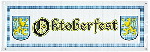 Oktoberfest Sign Banner Party Accessory (1 count) (1/Pkg) -