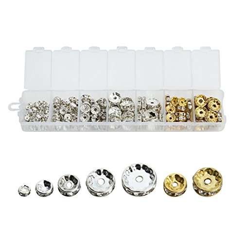 Silver Tone Stainless Steel Ball Chain Connector Clasps Fits for1.6//2//2.4//3.2//4mm Beaded Ball Chain