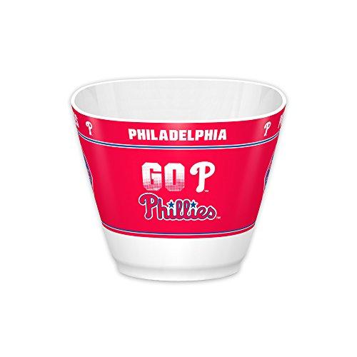 (Fremont Die MLB Philadelphia Phillies MVP Bowl, White, One Size)