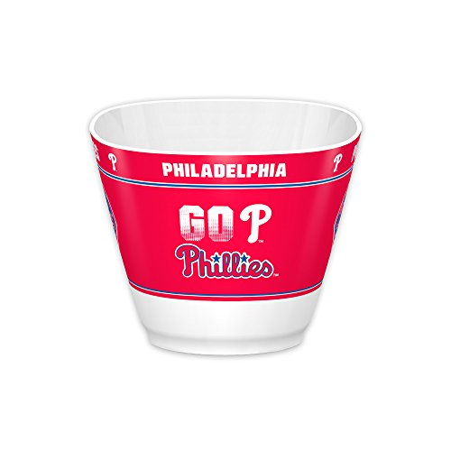 MLB Philadelphia Phillies MVP Bowl, White, One Size -