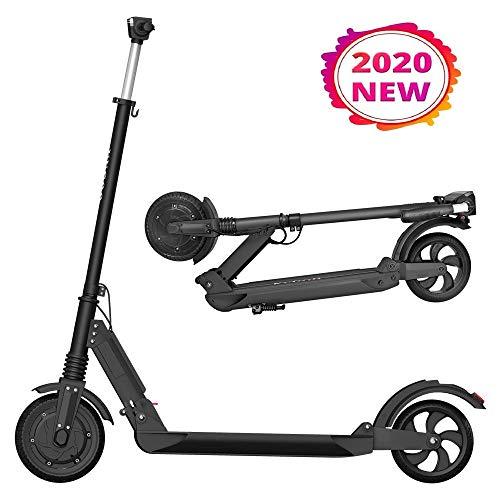 Patinete Eléctrico para Adultos, KUGOO S1 Scooter Electric Plegable Velocidad Máx 30 km/h, 350 Vatios, Batería 7.5Ah…