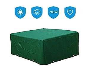 Multi Tamaños Luxus Funda Protección Para Muebles Mesa Jardín Mesa sillas cubierta protectora resistente al agua