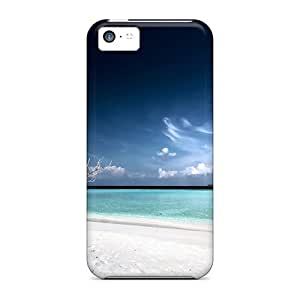 New Shockproof Protection Case Cover For Iphone 5c/ Dead Tree Beach Case Cover