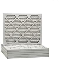 12x16x1 Dust & Pollen Merv 8 Pleated Replacement AC Furnace Air Filter (6 Pack)