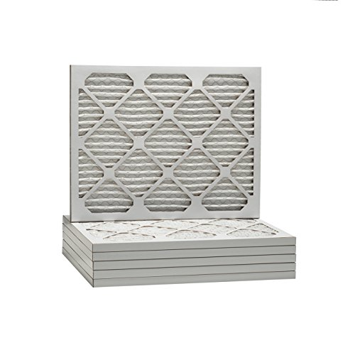 Tier1 Replacement for 16x18x1 Merv 8 Pleated Dust & Pollen AC Furnace Air Filter 6 Pack