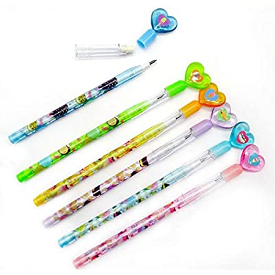 24 Pcs Ice Cream Multi Point Pencils: Office Products