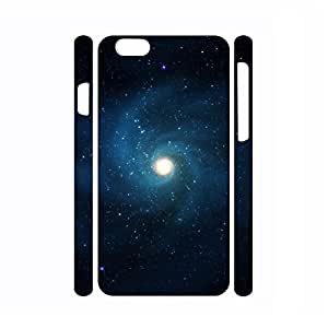 Dramatic Dustproof Galaxy Pattern Hard Plastic Phone Shell for Iphone 6 Plus Case - 5.5 Inch