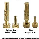 Twinkle Star Solid Brass Heavy Duty Adjustable