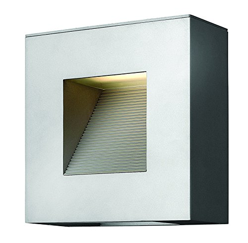 Atlantis Titanium Outdoor Wall Light - 2