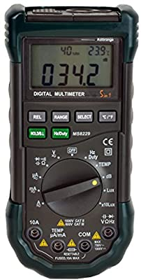 Mastech MS8229 Auto-Range 5-in-1 Multi-functional Digital Multimeter from Mastech