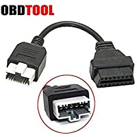 ObdTooL 3pin 5Pin to OBD 2 16pin Cable for Honda Car Scanner OBD1 OBD2 OBDII Adapter 3 pin 5 Pin to 16 pin Connector JC10