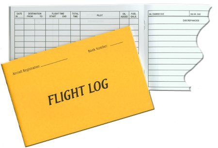Aircraft Flight Log by AV8America