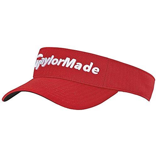 TaylorMade Golf 2017 performance radar visor red
