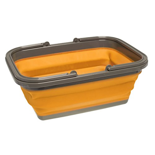 UST FlexWare Collapsible Sink 2.0 with 4.23 Gal Wash Basin for Washing Dishes and Person During Camping, Hiking and Home (Sinks And Tubs)