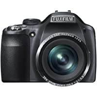 FUJIFILM Digital Camera FinePix SL300 (Black) 14MP Wide angle24mm 30x Optical Zoom F FX-SL300B