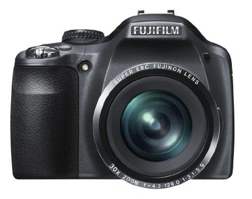FUJIFILM Digital Camera FinePix SL300 (Black) 14MP Wide angle24mm 30x Optical Zoom F FX-SL300B