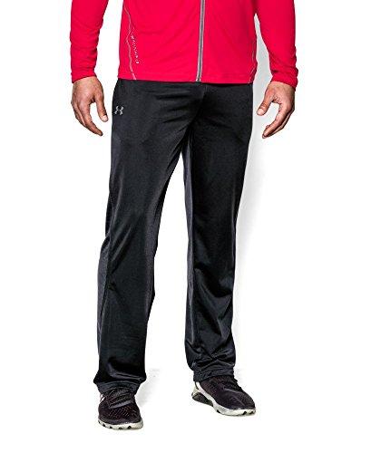 Under Armour Men's Relentless Warm-Up Pants, Black/Black, Medium