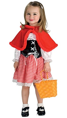 [Red Riding Hood Costume - Child/ Toddler Costume - Small] (Red Halloween Kids Costumes)