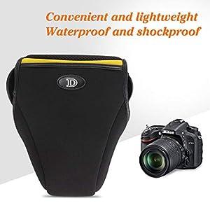 Arche DSLR Neoprene Camera Bag, Camera Case Sleeve for Nikon D80 D90 D3100 D5100 D7000 D7100 with Camera Body+18-105mm/18-200mm/17-85 Lens