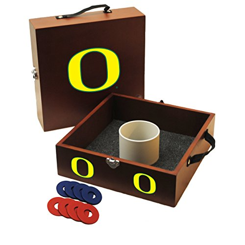 NCAA College Oregon Ducks Washer Toss (College Washer Toss Game)