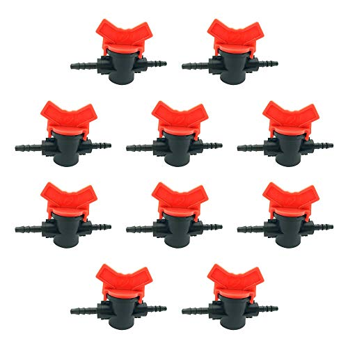 lecimo 5pcs/10pcs Screw Hose Pipe Splitter 2-way Connector Adaptor E H T