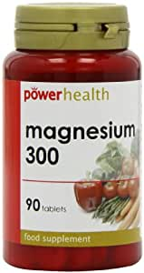 Power Health 300mg Magnesium - Pack of 90 Tablets