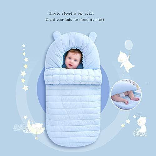 ZYEZI Manta De Abrigo Para Saco De Dormir Para Beb/és Universal Baby Cute Newborn Sleep Sack Swaddle Para El Cochecito De Cama Wrap White