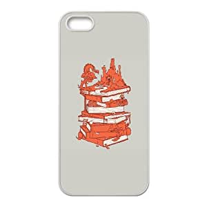iPhone 4 4s Cell Phone Case White The magic of books Nyjxi