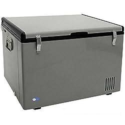 Whynter Fm-85g 85-quart Portable Refrigeratorfreezer, Platinum