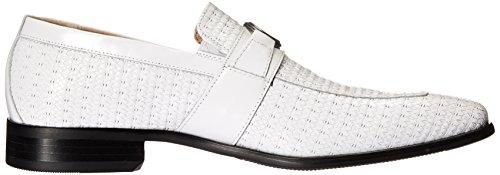 Bit Mannix Toe Slip Loafer Stacy Moc on Men's Adams White EqX1I