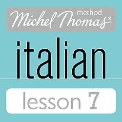 Michel Thomas Beginner Italian Lesson 7