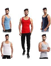 Sleeveless Undershirt for Men, Set of 5