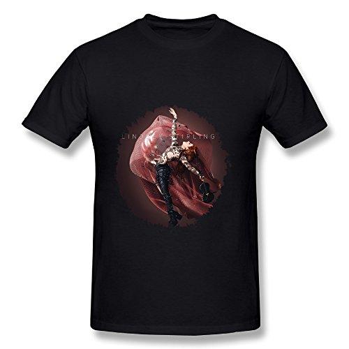 Lindsey Stirling Brave Enough Tour 2016 Poster Design Mens T-Shirts Black