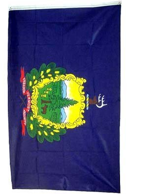 Vermont Flag Polyester 3 ft. x 5 ft.