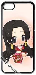 One Piece Boa Hancock Boa Hankokku Japanese Anime HD image case for iphone 5c black + Gift