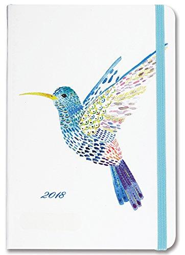 2018 Watercolor Hummingbird Weekly Planner (16-Month Engagement Calendar) (Sassy Calendar)