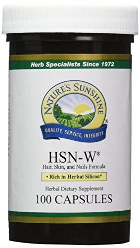NATURE'S SUNSHINE HSN-W Capsules, 100 Count