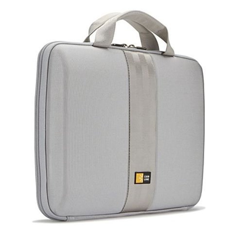 Case Logic QNS-111 11.6-Inch EVA Molded Chromebook/Netbook Sleeve (Grey)