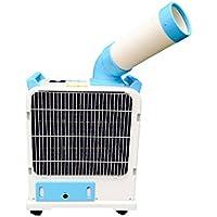 Nakatomi X Uninex Indoor Outdoor KoolZone Mobile Spot Cooler SAC-1800 Portable Air Conditioner Industrial Grade 6,143BTU R410A Refrigerant