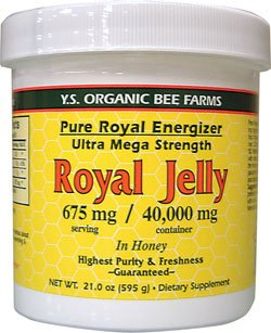 Ys Organic, Pure Royal Energizer: 40,000 Mg Fre 21.0 Oz. ...