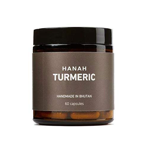 HANAH Turmeric+, Anti inflammatory, Antioxidant, Supports Digestion, Cardiovascular Health, Brain Function and Joint Mobility, Includes Black Pepper for Better Absorption, 60 Capsules Review